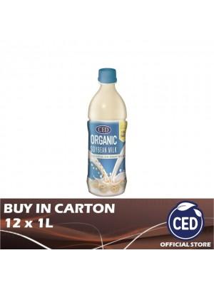 CED Organic Soybean Milk Less Sugar 12 x 1L
