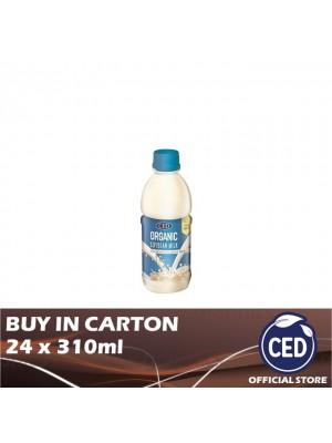 CED Organic Soybean Milk Less Sugar 24 x 310ml