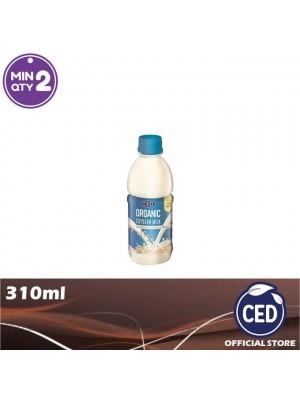 CED Organic Soybean Milk Less Sugar 310ml