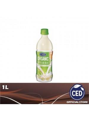 CED Organic Soybean Milk No Sugar Added 1L