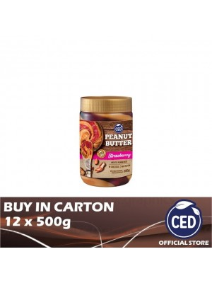 CED Peanut Butter Strawberry Flavoured Stripes 12 x 500g