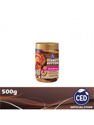 CED Peanut Butter Strawberry Flavoured Stripes 500g (EXP : 11/2021) [MUST BUY]