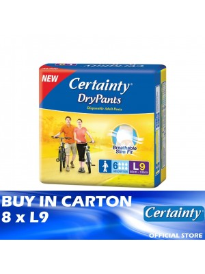Certainty Drypants 8 x L9
