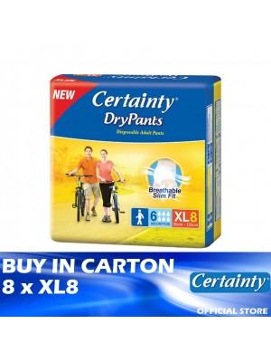 Certainty Drypants 8 x XL8