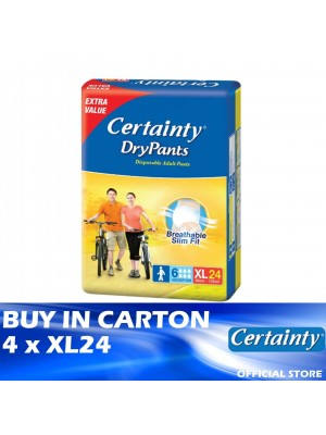 Certainty Drypants Jumbo Pack 4 x XL24