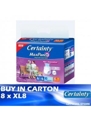 Certainty Maxpants 8 x XL8