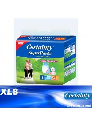 Certainty Superpants XL8