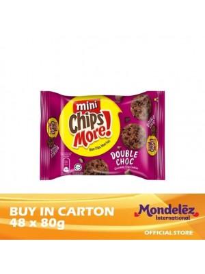 Chipsmore Double Chocolate Mini 48 x 80g