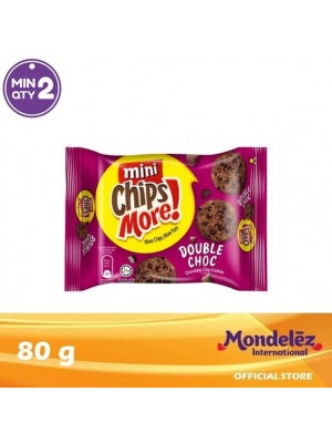 Chipsmore Double Chocolate Mini 80g