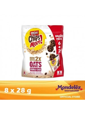 Chipsmore Oats Double Chocolate 16(8 x 28g)