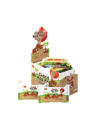 Lee Biscuit Choco Moo Moo Biscuits 12sx70g(Box)