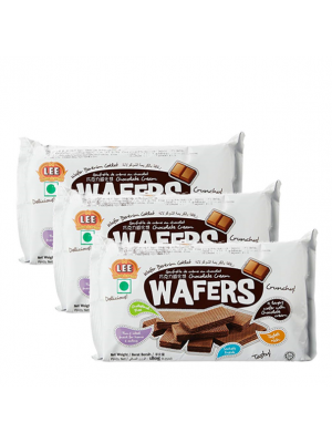 Lee Biscuit Chocolate Cream Wafer 3x180g