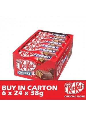 Nestle KitKat Chunky 6 x 24 x 38g