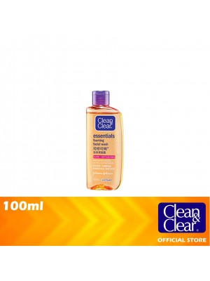 Clean & Clear Essentials Facial Foaming Wash 100ml [MUST BUY]