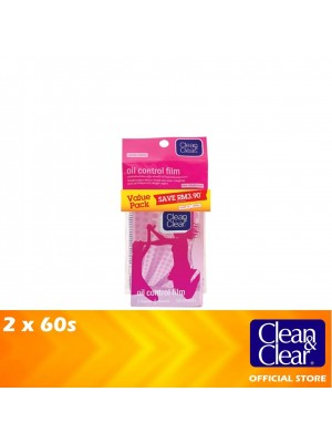 Clean & Clear Oil Control Film Twin Pack 2 x 50s