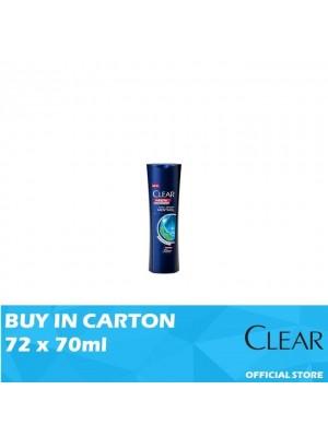 Clear Men Shampoo Cool Sport Menthol 72 x 70ml