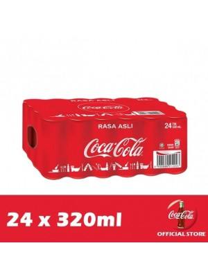Coca-Cola Rasa Asli 24 x 320ml