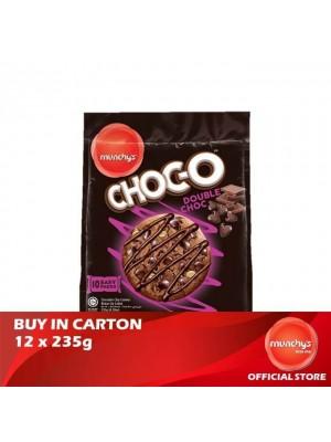Munchy's Chocolate-O Cookies Double Chocolate 12x235g
