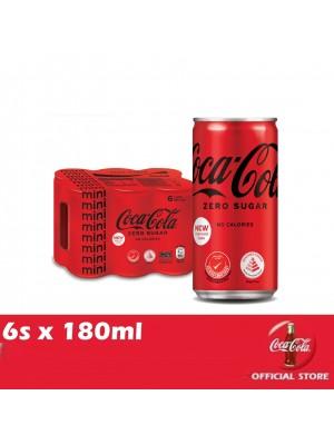 Coca-Cola No Sugar Mini 6s x 180ml