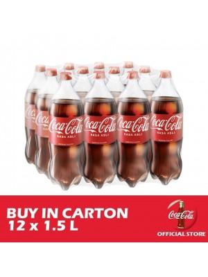Coca-Cola Rasa Asli 12 x 1.5L