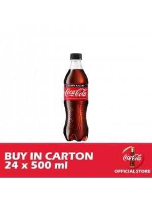 Coca-Cola Tanpa Kalori PET 24 x 500ml