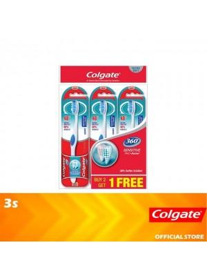 Colgate 360 Sensitive Pro Relief Toothbrush Ultra Soft Valuepack 3s