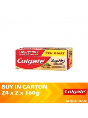 Colgate Kayu Sugi Base 24 x (Value Pack 2 x 160g)