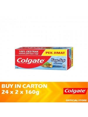 Colgate Kayu Sugi Pemutih 24 x (Value Pack 2 x 160g)