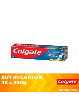 Colgate Maximum Cavity Protection Great Regular Flavour Toothpaste 48 x 250g