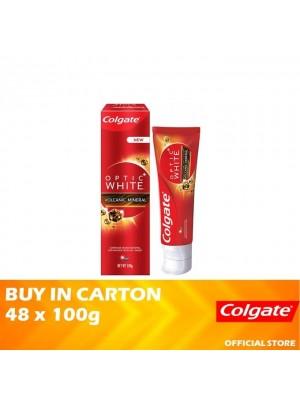 Colgate Optic White Volcanic Whitening Toothpaste 48 x 100g