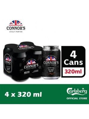 Connors Can 4 x 320ml