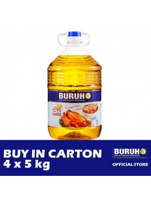 Buruh (Labour) Refined Cooking Oil 4 x 5kg [Covid-19]