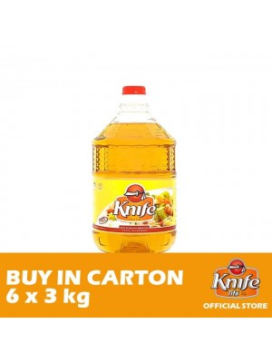 Knife Cooking Oil 6 x 3kg