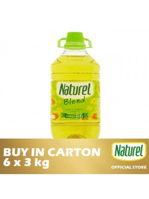Naturel Blend Cooking Oil 6 x 3kg [Essential]