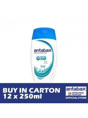 Antabax Anti-Bacterial Shower Gel - Cool 12 x 250ml