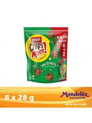 Chipsmore Hazelnut Handy [Multi-Pack 8 x 28g]