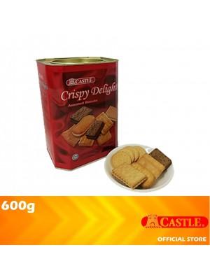 Castle Crispy Delight Assorted Biscuit 600g