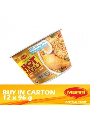 Maggi Hot Mealz Curry Chicken Laksa 12 x 96g