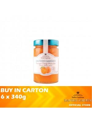 Danish Garden No Sugar Added Orange 6 x 340g