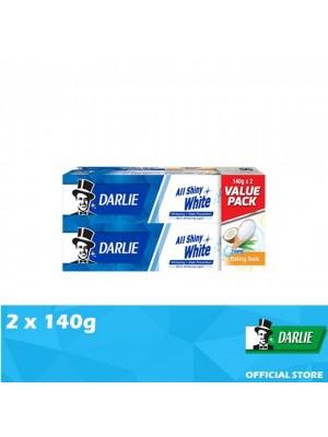 Darlie All Shiny White Baking Soda Value Pack 2 x 140g