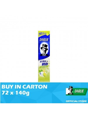 Darlie All Shiny White Lime Mint Toothpaste 72 x 140g
