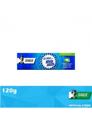 Darlie All Shiny White Supreme Refreshing Mint Toothpaste 120g