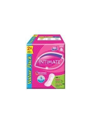 Intimate Daylite Slim 2x20 pcs Cottony Surface (Day Use)