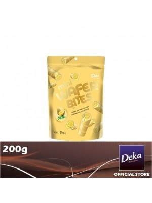 Deka Mini Wafer Bites Durian 200g [Essential]
