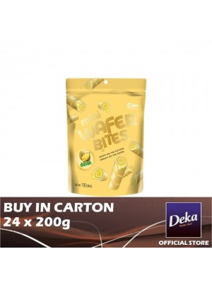 Deka Mini Wafer Bites Durian 24 x 200g