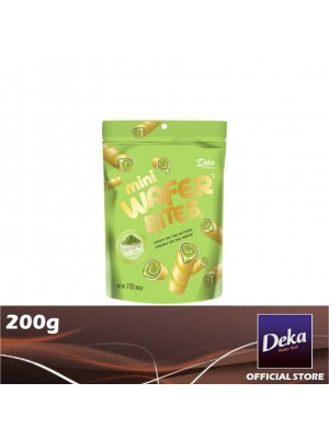 Deka Mini Wafer Bites Matcha 200g