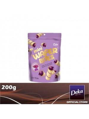 Deka Mini Wafer Bites Ube 200g [Essential]