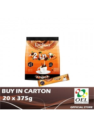 Delica 2 in 1 Ipoh White Coffee 20 x 375g