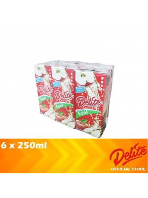 Delite Asian Drink Apple 6 x 250ml