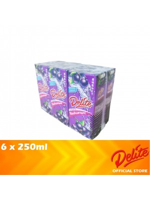 Delite Asian Drink Blackcurrant 6 x 250ml